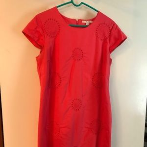 Boden dress, US 14R, Coral, very nice! $20.